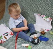 Fotogalerie capáčky k narozeninkám s ostatními dárečky i capáčky :-)