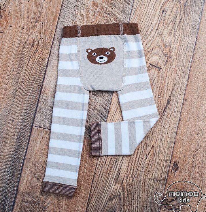 Dětské bambusové legíny - MEDVÍDEK MÍŠA Mamoo Kids