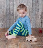 Dětské bambusové legíny - PŘÍŠERKA BUBU Mamoo Kids