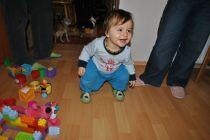 Fotogalerie capáčky Legrace s pejsky na zelené